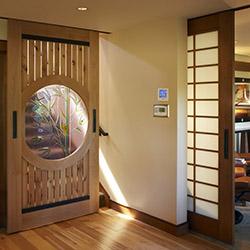 example of Bluffelen door and trim