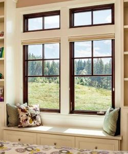 wood window installation